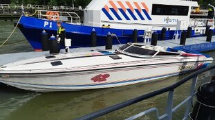 Snelle motorboot in beslag genomen