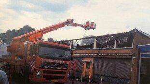 Vier minderjarigen aangehouden voor de brand in Overschie