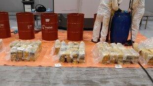 Meerdere cocaïnevangsten en aanhoudingen