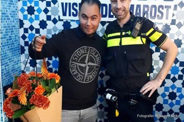 Wijkagent krijgt onverwachte hulp bij arrestatie