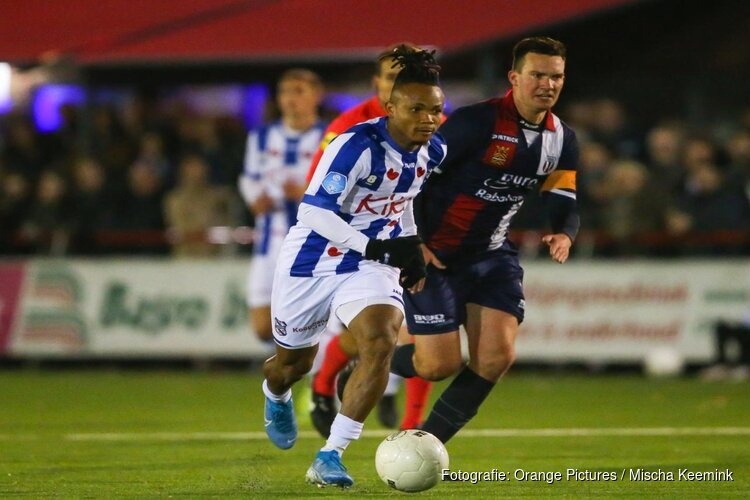 SC Heerenveen zakelijk langs Excelsior Maassluis