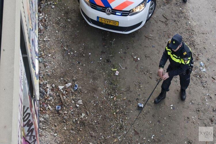 Op de vluchtgeslagen automobilist was onder invloed en had drugs op zak