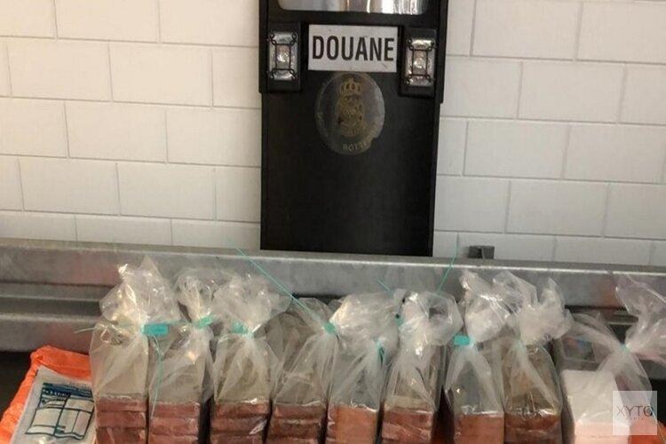 Douane vindt bijna 100 kilo cocaïne tussen fruit