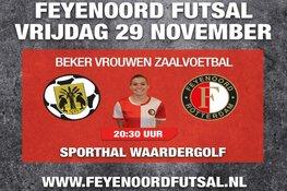 Feyenoord Futsal op bezoek bij Reiger Boys