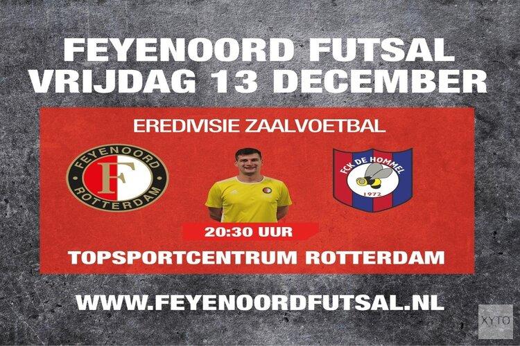Feyenoord Futsal ontvangt FCK De Hommel