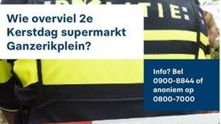 Gezette man overvalt supermarkt Schiebroek