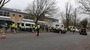 Grote actie tegen ondermijning in Rotterdam Zuid