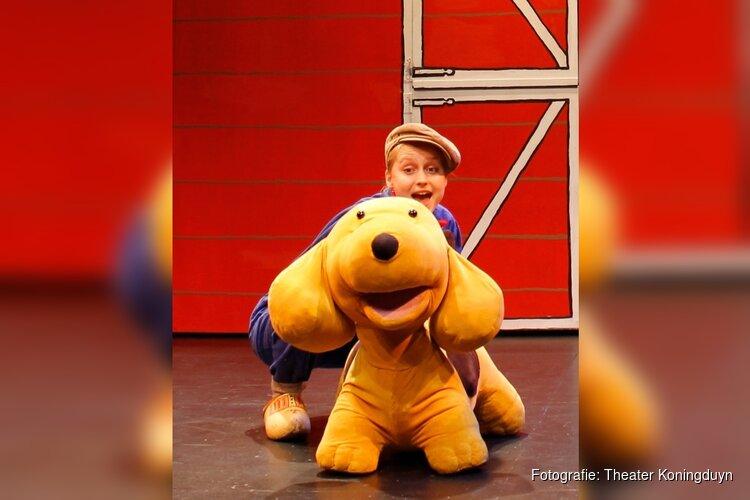 de Dribbel Minishow in theater Koningsduyn