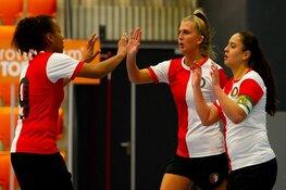 Vrouwen Feyenoord Futsal ontvangen vrijdag Os Lusitanos