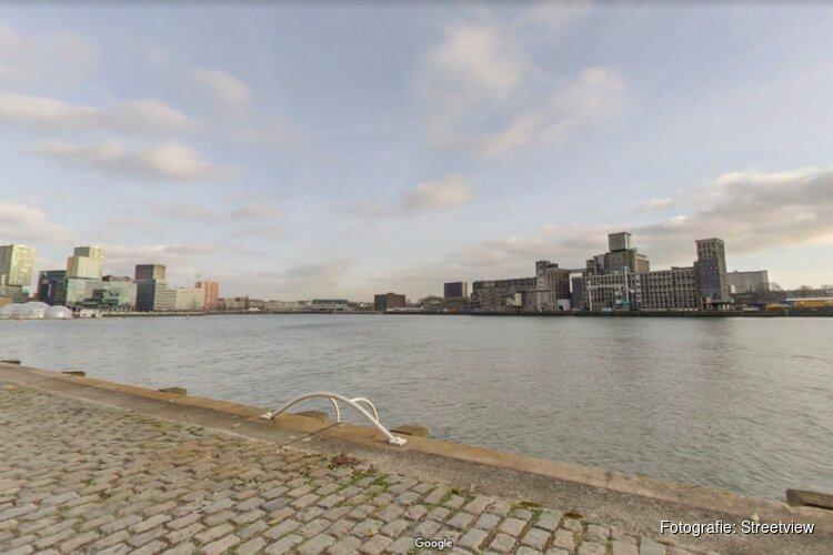 Bouw hotel en appartementen aan Rijnhaven