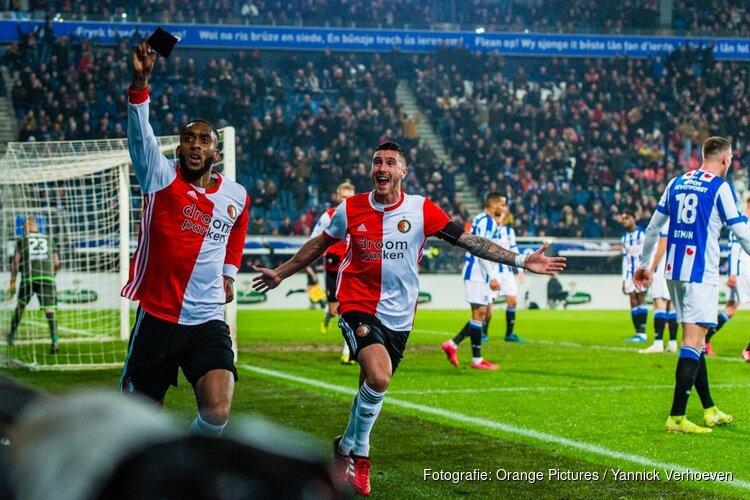 Feyenoord ontsnapt in Heerenveen