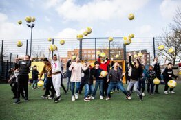 Finale NK Cruyff Courts in Rotterdam