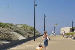Dit wordt het strandplein in Hoek van Holland