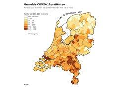 RIVM: Bijna 10.000 geregistreerde besmettingen, 639 personen overleden