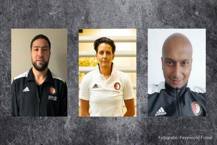 Feyenoord Futsal door met hoofdtrainers heren en damesselectie