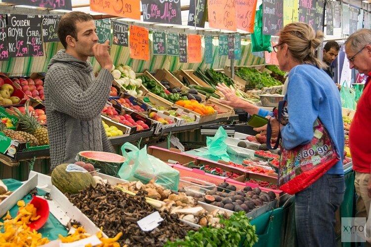 Markten deels weer open