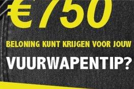 Rotterdamse politie lanceert speciaal telefoonnummer voor melden vuurwapens