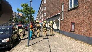 Explosief voor deur toko Frits Ruysstraat