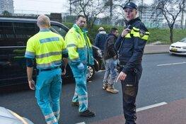 Automobilist in Rotterdam overleden na aanrijding met bus