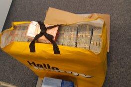 Man met bigshopper met half miljoen euro erin aangehouden