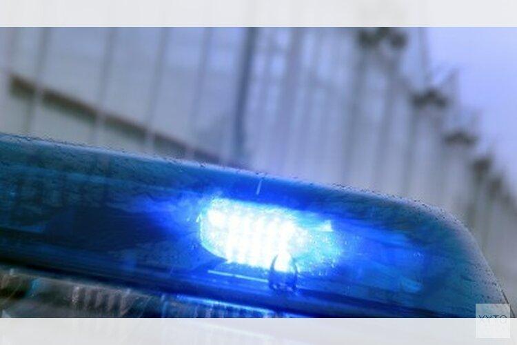 Gestolen auto raakt politieauto, vier personen aangehouden