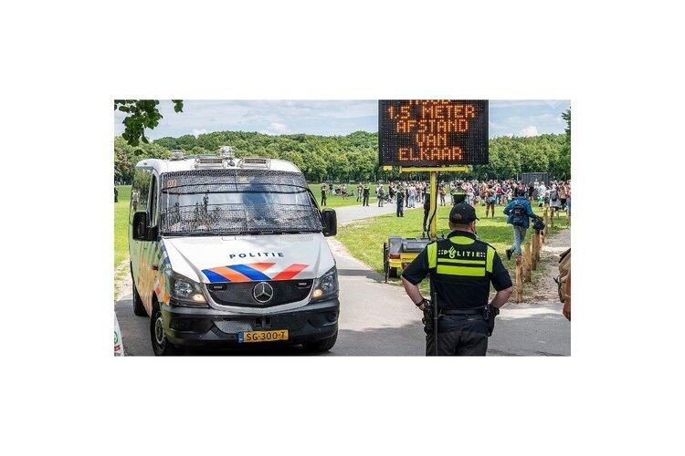Nieuwe aanhoudingen na ongeregeldheden op Malieveld