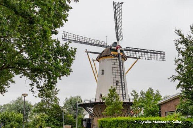Nieuw wiekenkruis voor molen