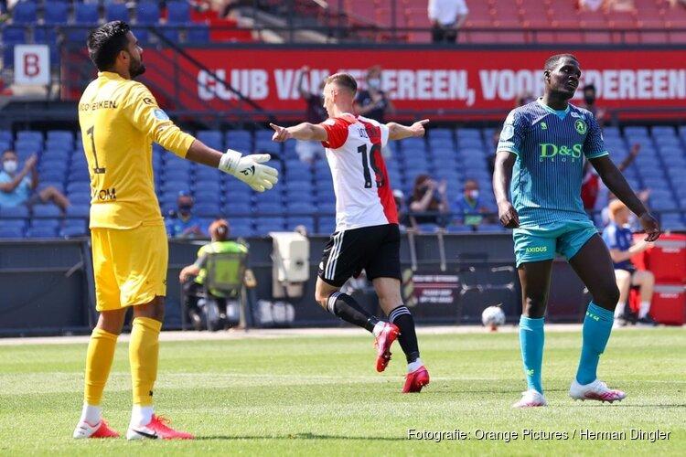 Feyenoord snel klaar met Sparta in oefenduel