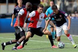 Feyenoord en FC Twente weten publiek nauwelijks te vermaken
