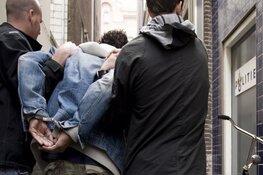 Agressieve man aangehouden dankzij alert optreden douanier