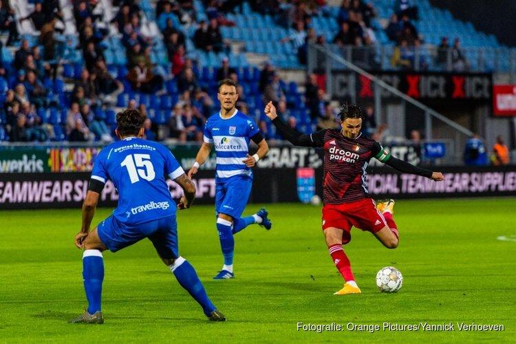 Berghuis schiet Feyenoord langs PEC Zwolle