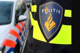 Politie houdt automobilist na melding bedreiging aan