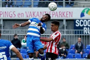 PEC Zwolle na rode kaart heer en meester over Sparta