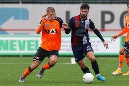 Het zit Jong FC Volendam eindelijk eens mee. Winst in Maassluis