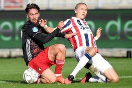 Feyenoord na rust overtuigend langs Willem II