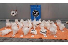 Vier aanhoudingen na onderschepping 875 kilo cocaïne