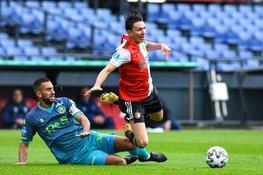 Feyenoord en Sparta spelen gelijk in matige stadsderby