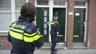 Man met mes aangehouden op de Eilertstraat Rotterdam