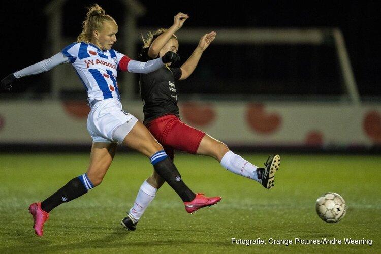 Heerenveen-vrouwen doen snel zaken tegen Excelsior