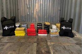 50 kilo cocaïne aangetroffen in de Botlek