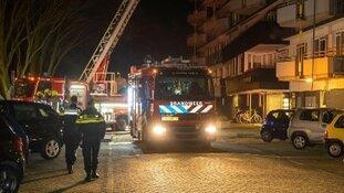 Man overleden bij brand Rotterdam Zuid, verdachte aangehouden